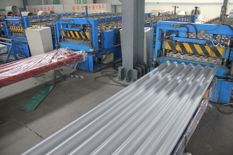 Corrugated Steel Sheet Production Line 01