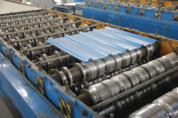 Corrugated Steel Sheet Production Line 02