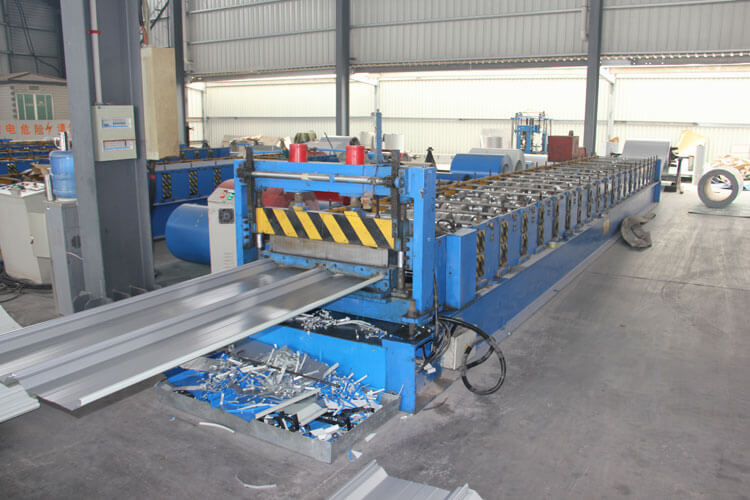 Corrugated Steel Sheet Production Line 03
