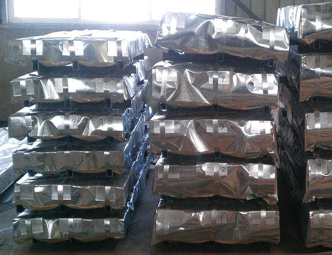 Corrugated Steel Sheet package 01