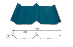 YX76-380-760 (Hidden type roof sheet)