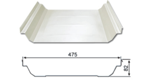 YX82-475(U-475) (Hidden type roof sheet)