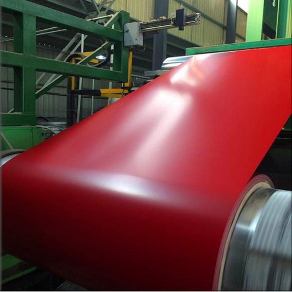 red ppgi coil